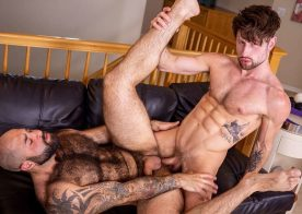 Atlas Grant and Drew Dixon fuck each other at Bareback That Hole