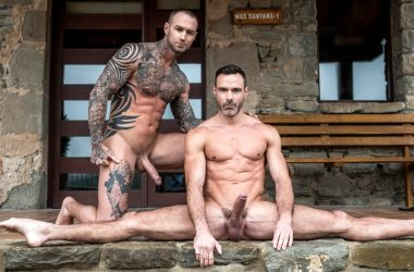 """Dylan James and Manuel Skye fuck each other in """"Fulfilling Daddy's Needs"""" part four"""
