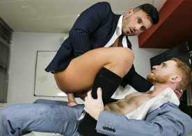 "Leander fucks Andy Star in ""Real Estate Broker"" part 2 from Men At Play"