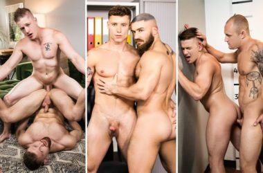 MEN update: Justin Matthews, Francois Sagat, Trevor Laster, Jake Porter and more