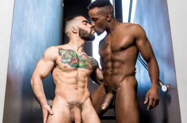Papi Suave debuts at Noir Male and gets fucked by Pheonix Fellington