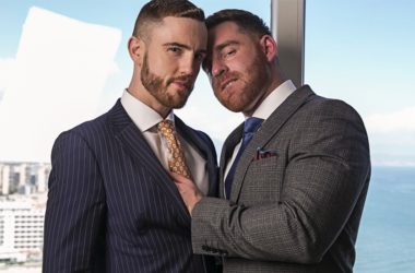 """JP Dubois & Jonas Jackson fuck each other in """"The Top Floor"""" from Men At Play"""