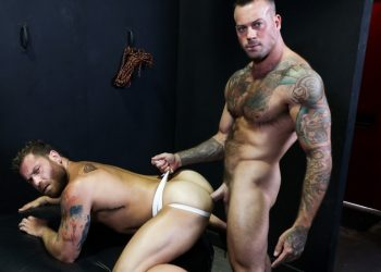 Sean Duran plows Riley Mitchel's eager hole at Pride Studios