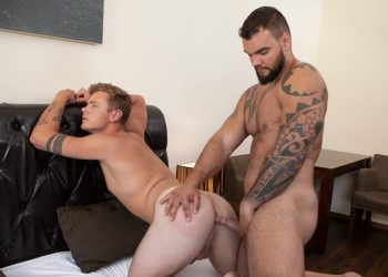 "Jerome gives Miro's eager hole a hard pounding in Bromo's ""Craving Raw Cock"""