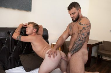 """Jerome gives Miro's eager hole a hard pounding in Bromo's """"Craving Raw Cock"""""""