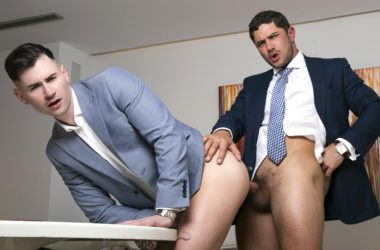 """Dato Foland fucks Lukas Daken in Men At Play's """"The Mentor and Mentee"""""""