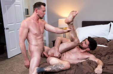"Pierce Paris raw-fucks Woody Fox in ""Hot, Raw and Ready"" part 1 from Raging Stallion"