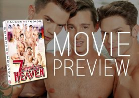 "A first look at Falcon Studios' new bareback movie ""7 Minutes in Heaven"""