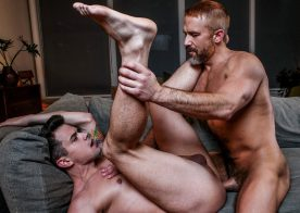 "Dirk Caber drills Dakota Payne's bare ass in ""Secrets My Daddy Never Told Me"" part 4"