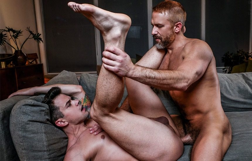 """Dirk Caber drills Dakota Payne's bare ass in """"Secrets My Daddy Never Told Me"""" part 4"""