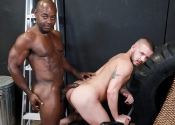 Pride Studios: Aaron Trainer raw-fucks Sean Harding and cums in his face