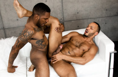 """Aaron Reese fucks Dillon Diaz in Noir Male's """"My Personal Chef"""""""