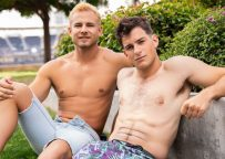 Archie and Josh take turns fucking each other at Sean Cody