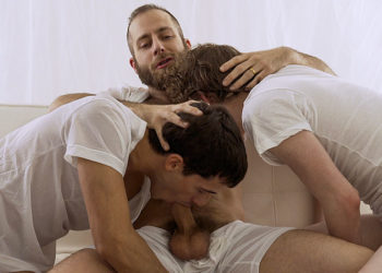 President Lewis in a bareback threesome with Elder Packer and Elder Dial