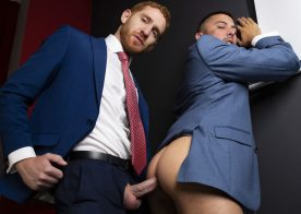 "Men At Play: Leander plows Shane Jackson's ass in ""Business School Welcum"""