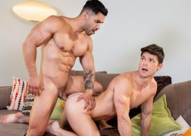"Falcon Studios: Arad Winwin raw-fucks Devin Franco in ""Afternoon Affairs"" part 4"