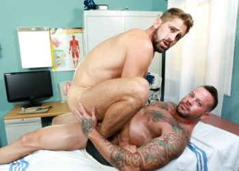 "Pride Studios: Sean Duran rims and fucks Wesley Woods in ""Exam Room Lovers"""