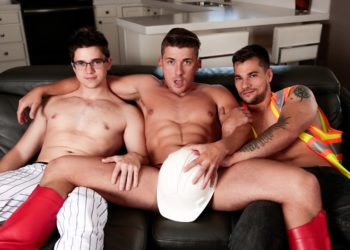 "Next Door Studios: Princeton Price, Jake Porter & Will Braun in ""Halloween Hoe Down"""