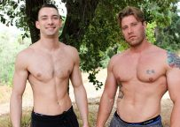 Active Duty: Johnny B bottoms for John Hawkins and takes his big raw dick