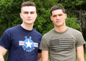 Active Duty: Sammy Nicks bottoms for LeeRoy Jones and takes his raw dick