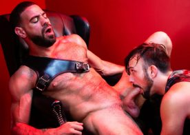 "Raging Stallion: Ricky Larkin and Mason Lear in ""Manscent"" part two"
