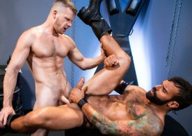 "Raging Stallion: Drake Masters and Brian Bonds fuck each other in ""Manscent"" part 3"