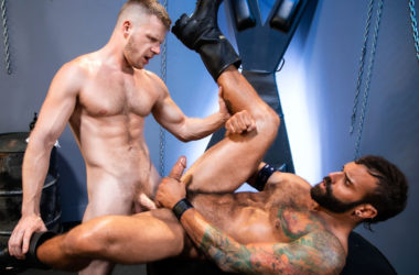 """Raging Stallion: Drake Masters and Brian Bonds fuck each other in """"Manscent"""" part 3"""