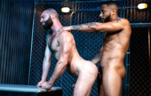 "Raging Stallion: Jaxx Maxim and Donnie Argento fuck in ""Manscent"" part 4"