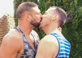 "Bareback That Hole: Dave London and Marco Napoli fuck in ""Simple Plan"""