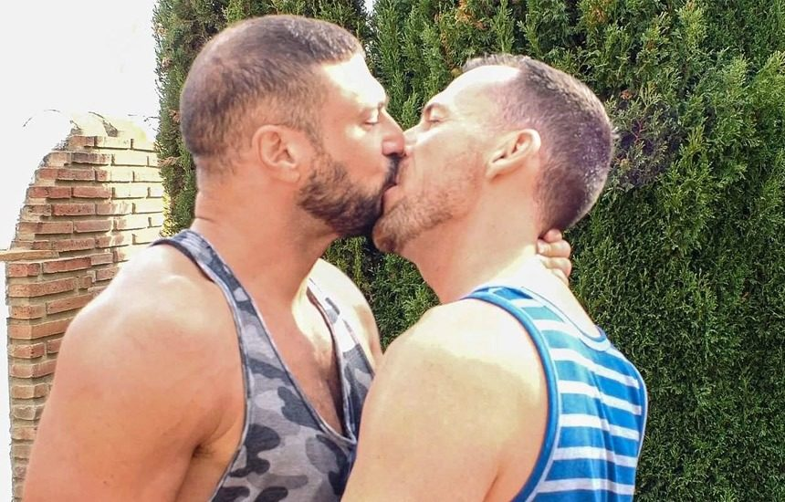 """Bareback That Hole: Dave London and Marco Napoli fuck in """"Simple Plan"""""""