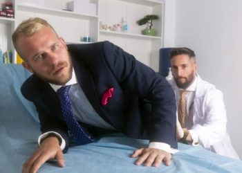 """Men At Play: Nick North fucks Malek Tobias in """"Check-in With Dr. North"""""""