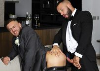"""Men At Play: Emir Boscatto and his best man Donato Reyes fuck in """"Pre-Wedding Jitters"""""""