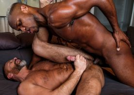 "Lucas Entertainment: Andre Donovan raw-fucks Dirk Caber in ""Raw Anal Sluts"" part 2"
