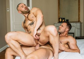 "CockyBoys: Austin Wolf pounds François Sagat in ""A Is For Alpha"" part one"