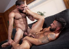 "Raging Stallion: Ricky Larkin raw-fucks Adam Ramzi in ""Blood Moon: Timberwolves 2"""