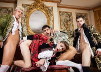 """MEN: JJ Knight, Joey Mills, Johnny Rapid & Ty Mitchell fuck in """"A Tale Of Two Cock Destroyers"""""""