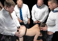 Group Auction Orgy! Bromo and Carnal Media join forces and release new Boy For Sale title