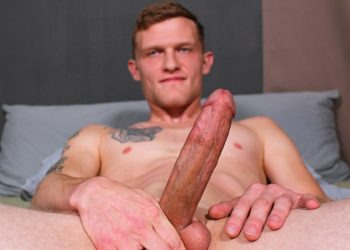 Active Duty: Jesse Nice strokes his big cock and blows a big load