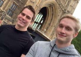 Helix Studios: Follow Kyle Ross and Max Carter on their EuroTrip