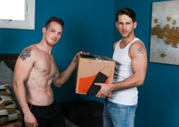 "Next Door Studios: Roman Todd pounds Jackson Cooper in ""Moving Men"""