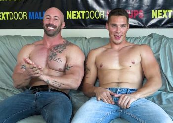 Next Door Studios: Max King returns for his 1st hardcore scene and fucks Spencer Laval