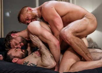 "Dirk Caber & Sergeant Miles double-penetrate Drew Dixon in ""Daddy's Dirty Secret"" (scene 1)"