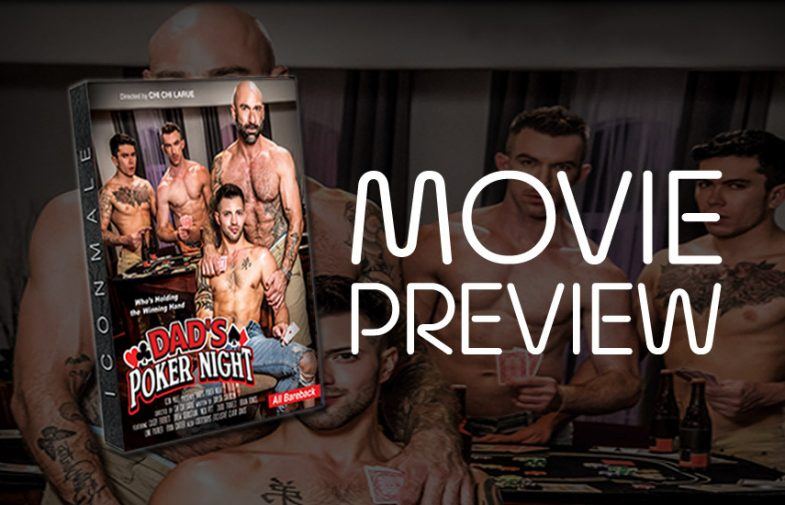 """Icon Male goes bareback with upcoming """"Dad's Poker Night"""" movie"""