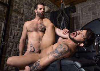 "Bromo: Dani Robles dominates and fucks Pietro Duarte in ""Punishing Pietro"""