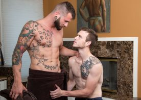 "Next Door Studios: Johnny Hill pounds Scott Finn in ""Fucking My Brother's Friend"""