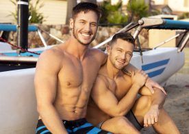 Sean Cody: Deacon bottoms for Jax and rides his big raw cock