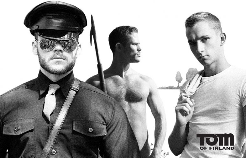 Exciting! MEN partners with the Tom of Finland Foundation