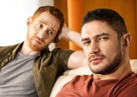 "Men.com: Dato Foland and Leander fuck each other raw in ""Off The Grid"" part one"