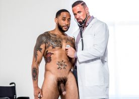"""Icon Male: Jaxx Maxim pounds Doctor Michael Roman in """"The Doctor is in… Me"""" part 3"""