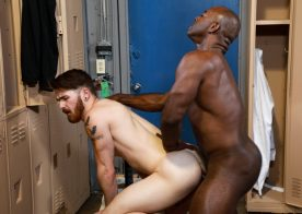 "Pride Studios: Nick Milani gets fucked by Aaron Trainer in ""Train My Ass With That Big Dick"""
